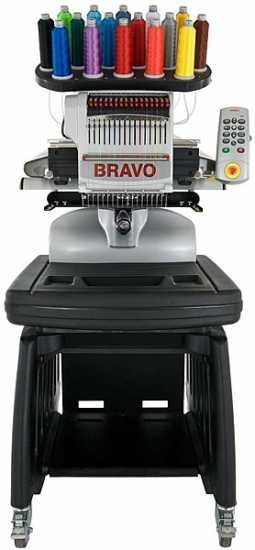 Melco Bravo 16-Needle Embroidery Machine