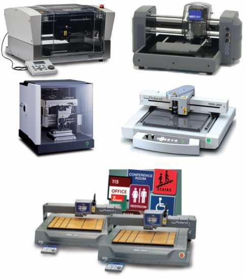 Roland Engraving Machines - New and Factory Refurb