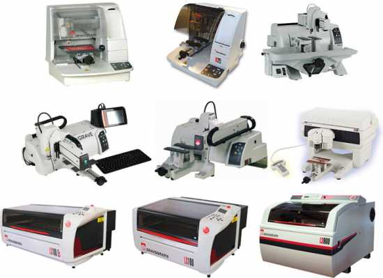 Gravograph Engraving Machines, All Models In Stock